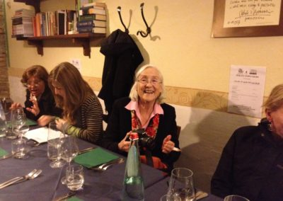 Lorna Smith Benjamin con Ipra a Pescara, 2012