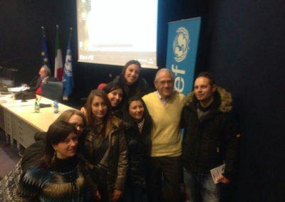 Allievi del III anno (2012-2013) con Alfredo Canevaro