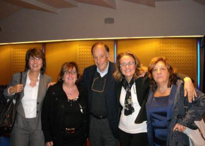 Le didatte con il Prof. Luigi Cancrini - 2010