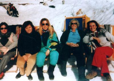 Sulla neve con Maria Grazia Cancrini